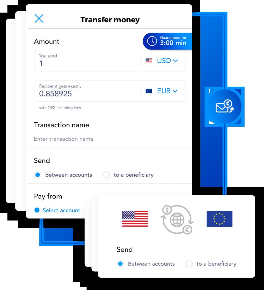 Transfer money screenshot