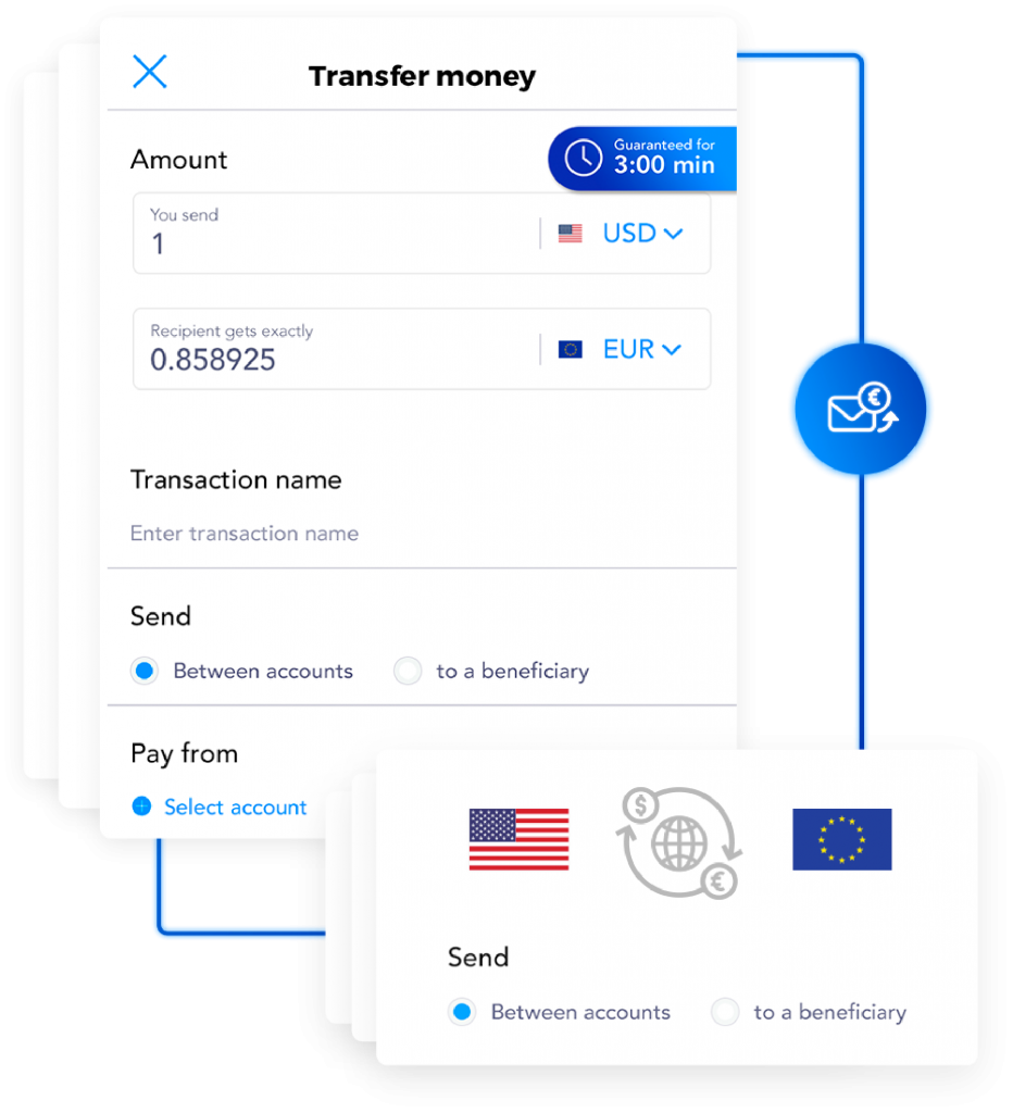 receive money transfer screen